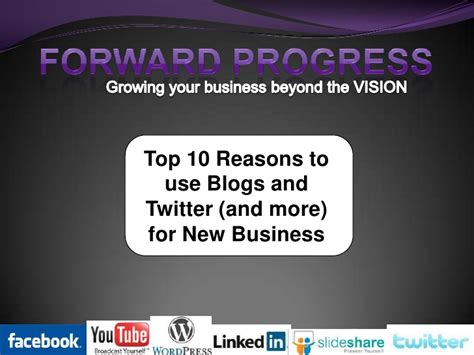 Great Blogs On Business by Top 10 Reasons To Use Blogs And For New Business