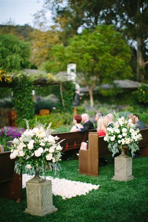 backyard wedding ideas for spring 53 awesome outdoor spring wedding ideas happywedd com