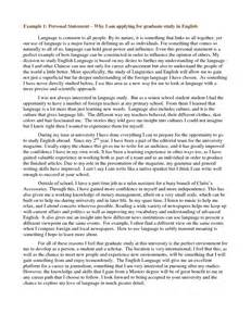 Masters Degree Essay Exles by Masters Degree Personal Statement