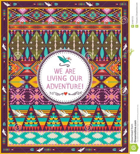 aztec pattern quotes hipster seamless aztec pattern with geometric elements