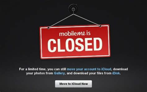 mobil me apple bids farewell to paid cloud service mobileme