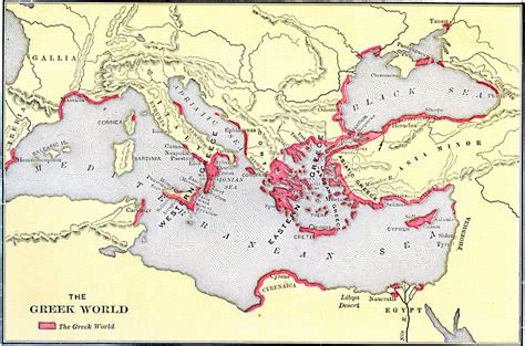 map world greece the ancient greeks weren t all geniuses the unz review