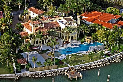 Spanish Home Plans by Contenta A 39 Million Waterfront Mansion In Miami Beach