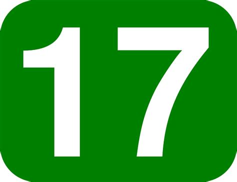 17 number wallpaper clipart best