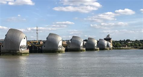 thames barrier obsolete thames barrier and park something different london