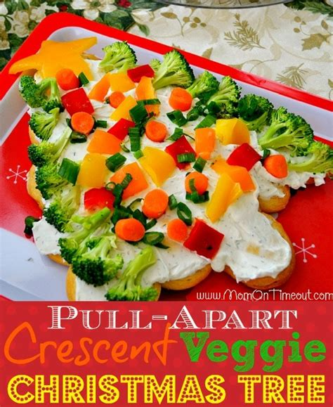 taste of home vegetable christmas tree crescent roll crescent veggie tree recipe on timeout