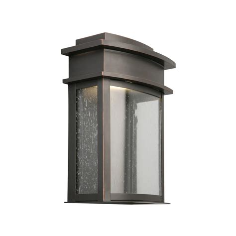 oil rubbed bronze outdoor wall light maxim lighting contour wall sconce 21271ftoi the home depot