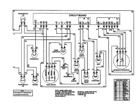 maytag dishwasher wiring diagram wiring diagram with