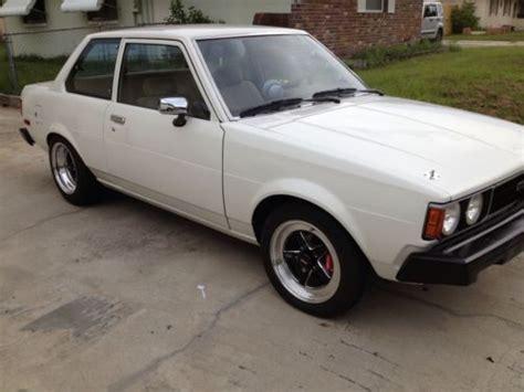 1980 Toyota Corolla Sale Buy New 1980 Toyota Corolla 1 8 With Mazda Rotary Engine