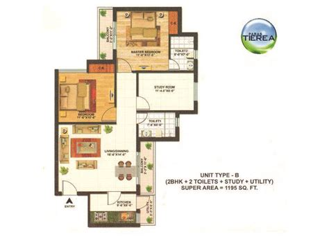 paras homes floor plans paras tierea sector 137 noida