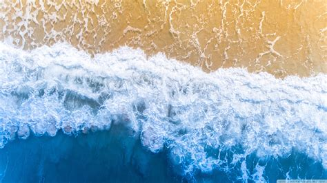 blue ocean aesthetic background  hd desktop wallpaper