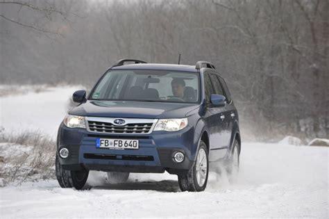 Auto Bild Allrad H Rtetest Im Schnee by Subaru Forester Im Schnee Subaru Forester F 252 R 2011