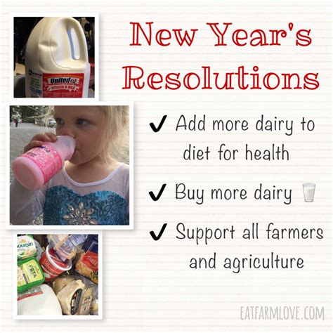 new year buy new year s resolution to buy more dairy eat farm