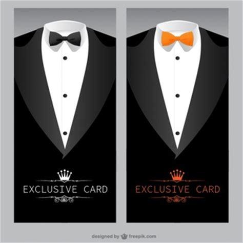 Suit And Tie Card Template by Nœud Vecteurs Et Photos Gratuites