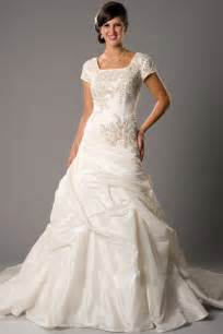 cheap modest wedding dresses with sleeves prlog