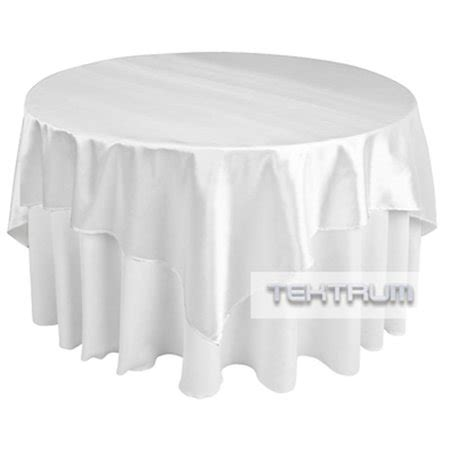 what size overlay for 72 table tektrum 72 x 72 inch 72 quot x72 quot square satin table overlay