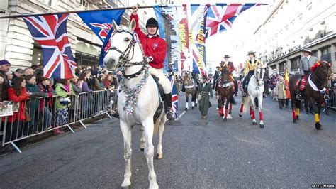 new year date uk news in pictures s new year parade