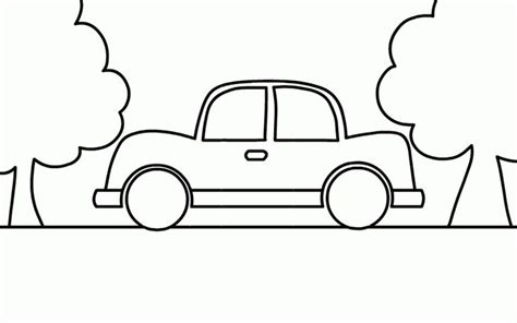 really easy coloring pages this car coloring page the very simple easy paint color
