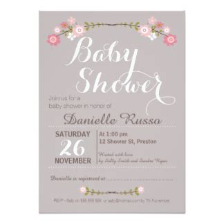 invites for baby shower girl girl baby shower invitations announcements zazzle