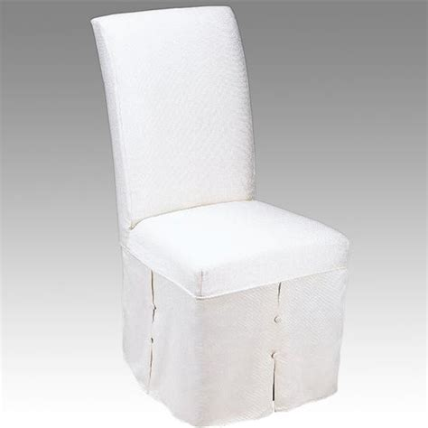 skirted parsons dining chairs chair pads cushions