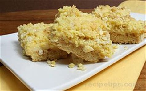 lemon bars with crumb topping lemon bars with crumb topping recipe recipetips com