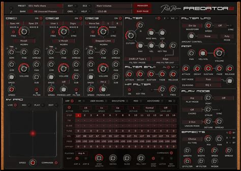 Rob Papen Predator rob papen predator 2 synthesizer explorer 4 released
