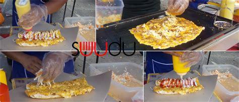 cara membuat roti john cheese cara buat roti john cheese leleh suudu artikel gempak