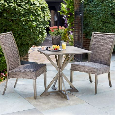 patio furniture bistro set hton bay carleton place 3 patio bistro set rxhd