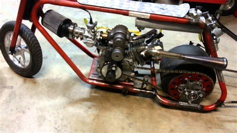 Dragbike Dragbike Rat 2 roots supercharged mini drag bike new dupor engine