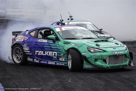 subaru brz drift formula drift seattle evergreen speedway recap tune86