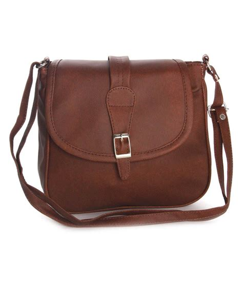 Maldavis Brown Slingbag Felicita Brown Sling Bag Buy Felicita Brown Sling Bag