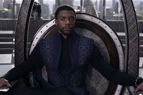 Acceptable Tv With Black Exclusive Clip And Voting Information by Black Panther Chadwick Boseman Defends Wakanda In New