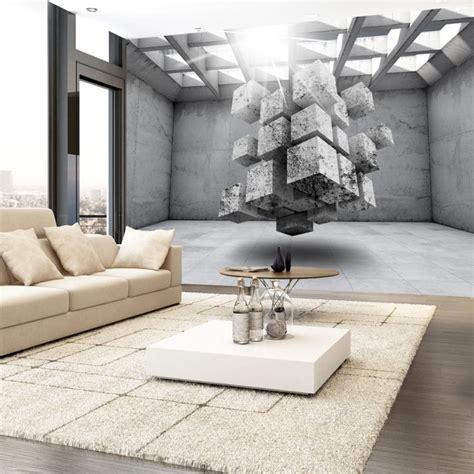 le betonoptik fototapeta 3d do salonu