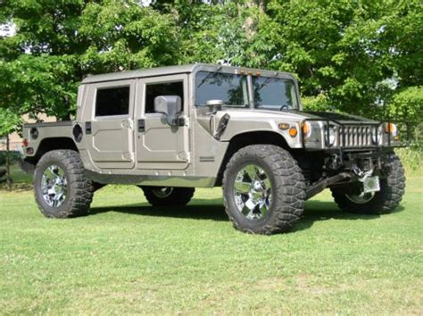 auto air conditioning repair 1993 hummer h1 interior lighting purchase used 2000 hummer h1 rare pewter black interior chrome rockstars in butler