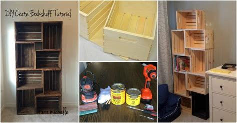 how to crate an how to make diy crate bookshelf how to