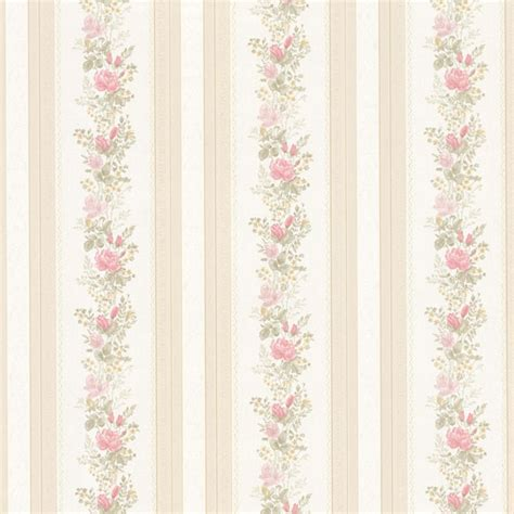 992 68352 pink satin floral stripe wallpaper alexis