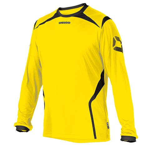 Jersey Fly Black Yellow Ls stanno torino sleeve jersey premier teamwear
