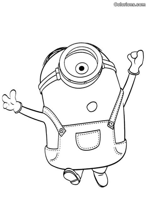 imagenes para dibujar de los minions 100 dibujos de minions para colorear oh kids page 1