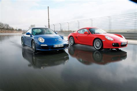 Porsche Cayman Vs 911 by Porsche Cayman S Vs Porsche 911 Carrera Nu Te Supara