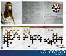 koleston color chart wella koleston permanent hair colour dye color