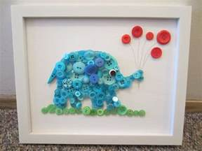 button crafts button elephant in the room tutorial busted button