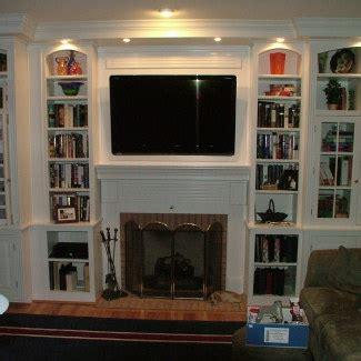 Fireplace Cabinets   Stigler's Woodworks   Cincinnati, OH