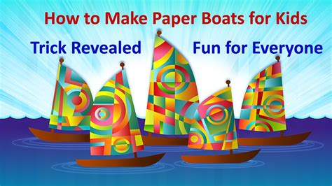 How To Make Paper Tricks - how to make paper boat for free tricks revealed 2017