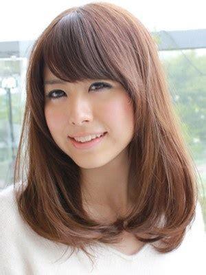 medium haircuts korean korean medium hairstyles for www pixshark