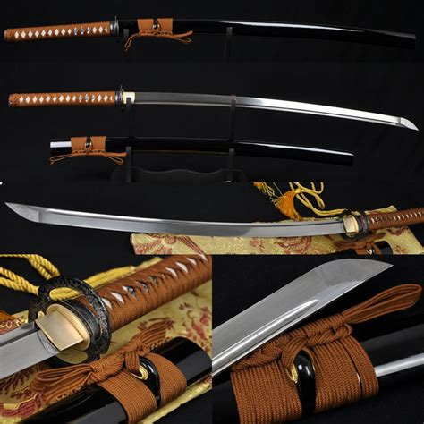 handmade japanese samurai musashi sword katana foldedsteel
