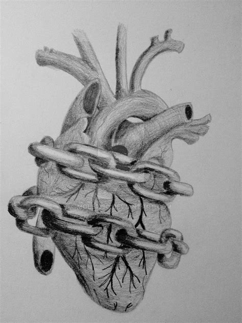 Heart in Chains by mole1990 on DeviantArt