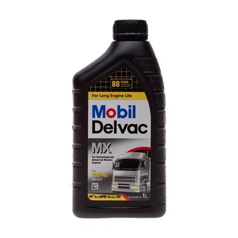 Mobil Delvac Mx 15w40 Oli 5 Liter jual mobil delvac mx sae 15w40 oli pelumas 1 l