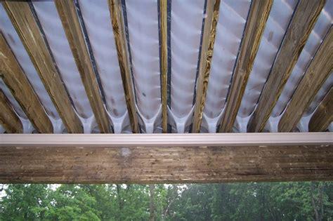 Deck Ceiling Panels by Deck Drainage System By Gm Decks Decks