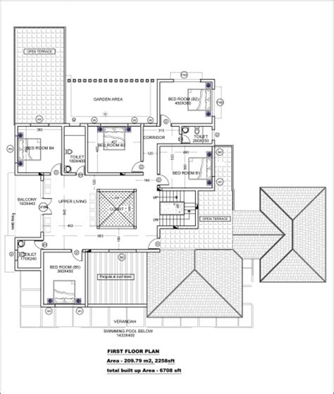 awesome vastu based kerala house plan home design and