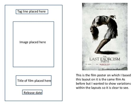 layout poster film film posters draft layouts